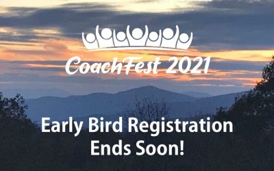 CoachFest Early Bird Pricing Ends August 31st
