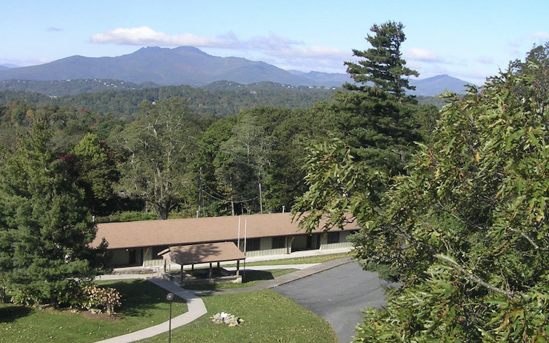 Mountains behind Blowing Rock Conference Center